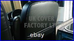 Vauxhall Vivaro / Renault 2007-12 Trafic Van Seat Cover Orange A29