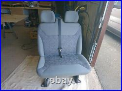 Vauxhall Vivaro / Renault Traffic front seats driver and double