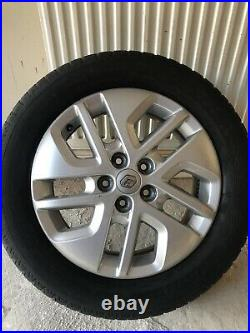 Vauxhall Vivaro Renault Trafic 17 Inch Alloy Wheels & Tyres Genuine