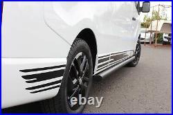 Vauxhall Vivaro Renault Trafic 17 Inch Black Alloy Wheels Tyres Unmarked Genuine