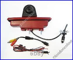 Vauxhall Vivaro Renault Trafic Brake Light LED Rear Reversing Camera + 4.3 LCD