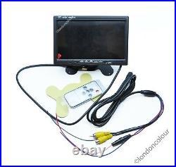 Vauxhall Vivaro Renault Trafic Brake Light Rear Reversing Camera + 7 Dash LCD