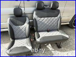 Vauxhall Vivaro Renault Trafic Front Seats fully re upholstered