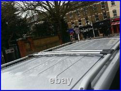 Vauxhall Vivaro Renault Trafic Grey Swb Roof Bar Rail+cross Bars 2015-onwards