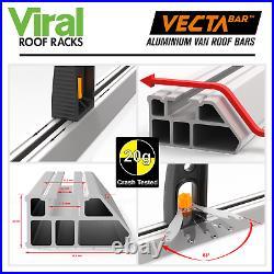 Vauxhall Vivaro Renault Trafic H1 Low Van Roof Rack Bars 3 x Vecta Bar 2001-2014