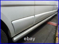 Vauxhall Vivaro Renault Trafic Nissan Primastar Lwb Chrome Side Bars Steps 01-13