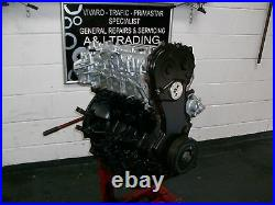 Vauxhall Vivaro Renault Trafic Nissan Primastar Reconditioned 2.0 M9r Engine
