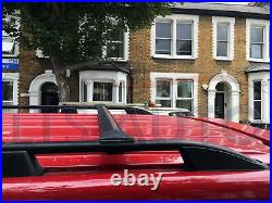 Vauxhall Vivaro Renault Trafic Primastar Swb Black Roof Bar+ Cross Bars 2015 On