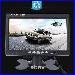 Vauxhall Vivaro Reversing Camera & 7 Monitor Brake Light Reverse Cam 2014 On