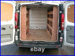 Vauxhall Vivaro SWB Van Tool Storage, Plywood Shelving, Plywood Racking