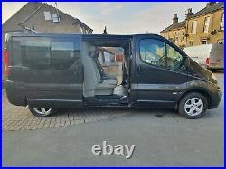 Vauxhall Vivaro Sport crew cab LWB tailgate 62 reg similar to transit trafic