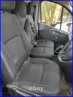 Vauxhall Vivaro Sportive 2016 Front drivers and passenger Seats