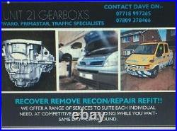 Vauxhall vivaro. Renault gearbox repairs