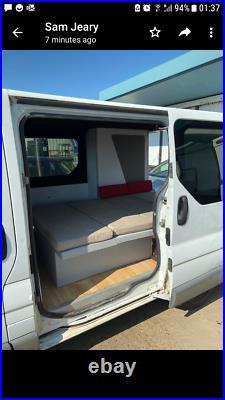 Vauxhall vivaro van converted camper